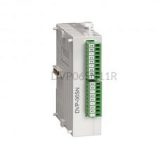 Moduł 6 wyjść przekaźnikowych Delta Electronics DVP06SN11R
