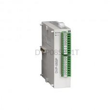 Moduł 4 wyjść i 4 wejść cyfrowych Delta Electronics DVP08SP11T