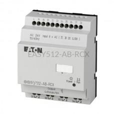 Przekaźnik programowalny EASY512-AB-RCX Eaton bez wyświetlacza tekstowego 24V AC 8 wej. 4 wyj. 274102