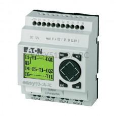 Przekaźnik programowalny EASY512-DA-RC Eaton z wyświetlaczem tekstowym 12V DC 8 wej. 4 wyj. 274106