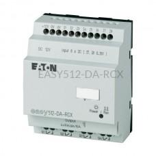 Przekaźnik programowalny EASY512-DA-RCX Eaton bez wyświetlacza tekstowego 12V DC 8 wej. 4 wyj. 274107