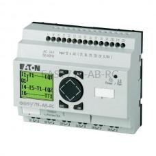 Przekaźnik programowalny EASY719-AB-RC Eaton z wyświetlaczem tekstowym 24V AC 12 wej. 6 wyj. 274113