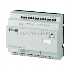 Przekaźnik programowalny EASY719-AB-RCX Eaton bez wyświetlacza tekstowego 24V AC 12 wej. 6 wyj. 274114