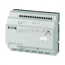 Przekaźnik programowalny EASY719-AC-RCX Eaton bez wyświetlacza tekstowego 100...240V AC 12 wej. 6 wyj. przekaźnikowych 274116