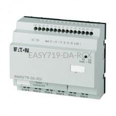 Przekaźnik programowalny EASY719-DA-RCX Eaton bez wyświetlacza tekstowego 12V DC 12 wej. 6 wyj. 274118