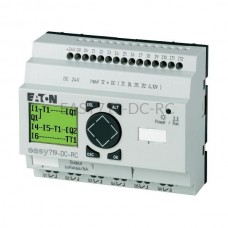 Przekaźnik programowalny EASY719-DC-RC Eaton z wyświetlaczem tekstowym 24V DC 12 wej. 6 wyj. 274119