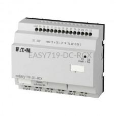 Przekaźnik programowalny EASY719-DC-RCX Eaton bez wyświetlacza tekstowego 24V DC 12 wej. 6 wyj. 274120