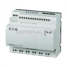 Przekaźnik programowalny EASY819-AC-RCX Eaton bez wyświetlacza tekstowego 100...240V AC 12 wej. 6 wyj. przekaźnikowych 256268