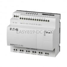 Przekaźnik programowalny EASY819-DC-RCX Eaton bez wyświetlacza tekstowego 24V DC 12 wej. 6 wyj. 256270