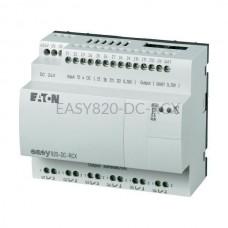 Przekaźnik programowalny EASY820-DC-RCX Eaton bez wyświetlacza tekstowego 24V DC 12 wej. 6 wyj. 256272