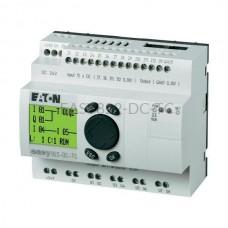 Przekaźnik programowalny EASY822-DC-TC Eaton z wyświetlaczem tekstowym 24V DC 12 wej. 8 wyj. 256275