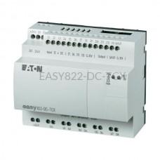 Przekaźnik programowalny EASY822-DC-TCX Eaton bez wyświetlacza tekstowego 24V DC 12 wej. 8 wyj. 256276