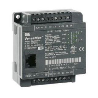 Sterownik PLC VersaMax Nano GE Automation & Controls IC200NDR001