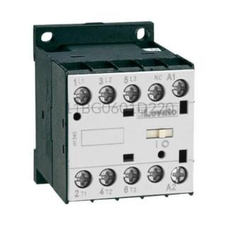 Stycznik 3F 2,2kW 6A 3NO+1NC 220VDC 11BG0601D220 Lovato