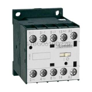 Stycznik 3F 2,2kW 6A 3NO+1NO 220VDC 11BG0610D220 Lovato