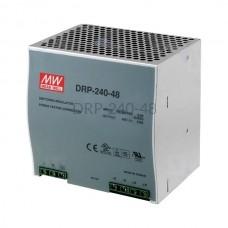 Zasilacz impulsowy na szynę Mean Well 230VAC 48VDC 5A DRP-240-48