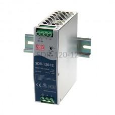 Zasilacz impulsowy na szynę Mean Well 230VAC 12VDC 10A SDR-120-12