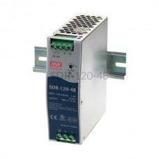 Zasilacz impulsowy na szynę Mean Well 230VAC 48VDC 2,5A SDR-120-48