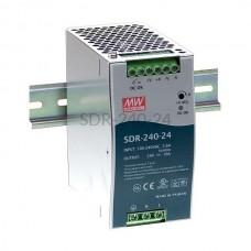 Zasilacz impulsowy na szynę Mean Well 230VAC 24VDC 10A SDR-240-24