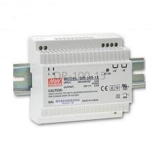 Zasilacz impulsowy na szynę Mean Well 230VAC 15VDC 6,5A DR-100-15