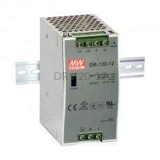 Zasilacz impulsowy na szynę Mean Well 230VAC 12VDC 10A DR-120-12