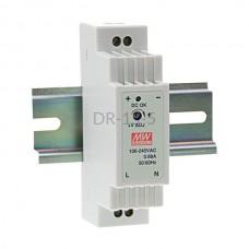 Zasilacz impulsowy 5VDC 2,4A Mean Well DR-15-5