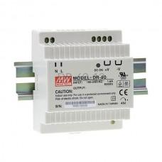 Zasilacz impulsowy na szynę Mean Well 230VAC 12VDC 4,25A DR-60-12