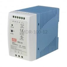 Zasilacz impulsowy na szynę Mean Well 230VAC 12VDC 7,5A MDR-100-12
