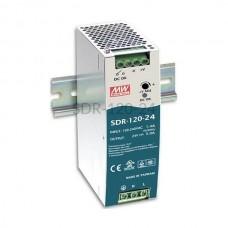 Zasilacz impulsowy na szynę Mean Well 230VAC 24VDC 5A SDR-120-24