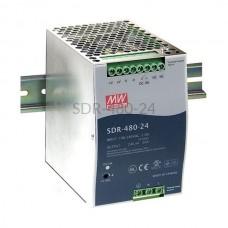 Zasilacz impulsowy na szynę Mean Well 230VAC 24VDC 20A SDR-480-24