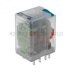 Przekaźnik elektromagnetyczny Relpol 2P 220VDC R2-2012-23-1220-WTLD