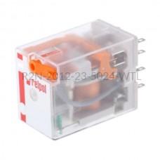 Przekaźnik elektromagnetyczny R2N-2012-23-5024-WTL Relpol 2P 24V AC  12 A