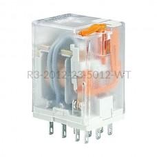 Przekaźnik elektromagnetyczny Relpol 3P 12VAC R3-2012-23-5012-WT