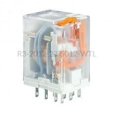 Przekaźnik elektromagnetyczny Relpol 3P 12VAC R3-2012-23-5012-WTL