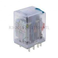 Przekaźnik elektromagnetyczny Relpol 3P 110VDC R3-2013-23-1110-WTL