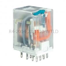 Przekaźnik elektromagnetyczny Relpol 4P 110VDC R4-2014-23-1110-WTLD