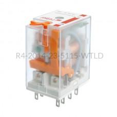 Przekaźnik elektromagnetyczny Relpol 4P 115VAC R4-2014-23-5115-WTLD