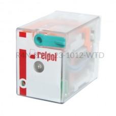 Przekaźnik elektromagnetyczny R4N-2014-23-1012-WTD Relpol 4P 12V DC 6 A