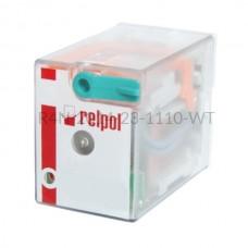 Przekaźnik elektromagnetyczny R4N-2014-23-1110-WT Relpol 4P 110V DC 6 A