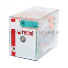 Przekaźnik elektromagnetyczny R4N-2014-23-1110-WTL Relpol 4P 110V DC 6 A