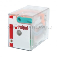 Przekaźnik elektromagnetyczny R4N-2014-23-1110-WTLD Relpol 4P 110V DC 6 A
