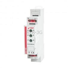 Lampka kontrolna 3-fazowa RLK-3G Relpol