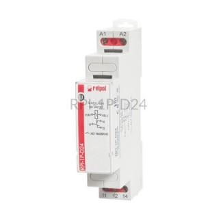 Przekaźnik instalacyjny RPI-1P-D24 1P 24V DC Relpol 863356