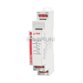 Przekaźnik instalacyjny RPI-2P-UNI 1P V AC/DC Relpol 863379