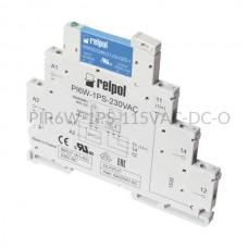 Przekaźnik interfejsowy-półprzewodnikowy produkcji Relpol 115VAC/VDC 1 styk PIR6W-1PS-115VAC-DC-O