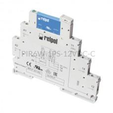 Przekaźnik interfejsowy-półprzewodnikowy produkcji Relpol 12VDC 1 styk PIR6W-1PS-12VDC-C