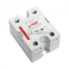 Przekaźnik półprzewodnikowy Relpol 240VAC 60A Uster 4...32VDC RSR52-24D60-R Relpol