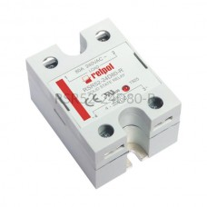 Przekaźnik półprzewodnikowy Relpol 240VAC 80A Uster 4...32VDC RSR52-24D80-R Relpol