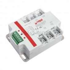 Przekaźnik półprzewodnikowy Relpol 480VAC Uster 4...32VDC 25A RSR62-48D25 Relpol