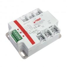 Przekaźnik półprzewodnikowy Relpol 600VAC Uster 4...32VDC 25A RSR62-60D25-R Relpol